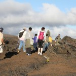 Hiking on the Lava Trails